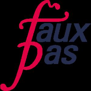 faux pas Logo